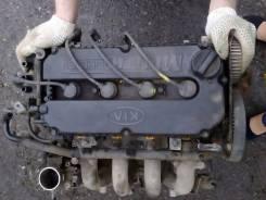 Двигатель в сборе. Kia Rio Kia Spectra