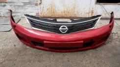 Решетка радиатора. Nissan Tiida