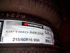 Hankook Optimo ME02 K424. Летние, 2016 год, без износа, 4 шт