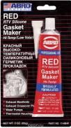 Герметик прокладка ABRO красный 85 гр.