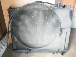 Радиатор охлаждения двигателя. Nissan Terrano Двигатель VG33E