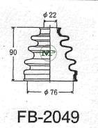 Пыльник привода ШРУС TG-2023/52-413 TiGUAR TiGuar