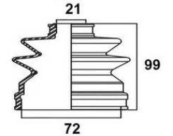 Пыльник привода ШРУС TG-2058/07-420 TiGUAR TiGuar