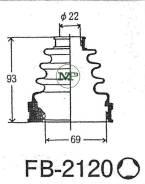 Пыльник привода ШРУС TG-2120/02-144 TiGUAR TiGuar