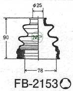 Пыльник привода ШРУС TG-2153/02-126 TiGUAR TiGuar