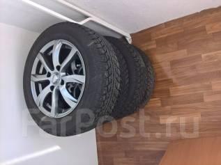 Продам зимние шины 185/65/R15 на литых дисках. x15