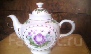 Чайник заварной фарфоровый. 1,5 литра, отлично на подарок.
