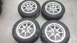 Продам отличный комплект колёс R14 зима!. 6.0x14 4x100.00 ET38 ЦО 73,0мм.