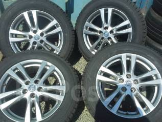 Nissan. 7.5x18, 5x114.30, ET55, ЦО 66,1мм.