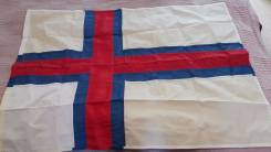 Флаг Фарерские острова. Во в Владивостоке.