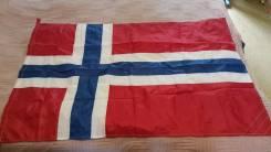 Флаг Норвегия. Во в Владивостоке.