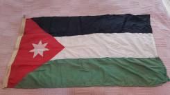 Флаг Иордания. Во в Владивостоке.