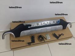 Накладка на бампер. Subaru Forester, SH