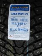 Maxtrek Trek M900. Зимние, шипованные, 2016 год, без износа, 4 шт. Под заказ