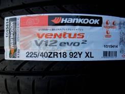 Hankook Ventus V12 evo2 K120. Летние, 2016 год, без износа, 2 шт