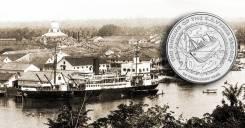 Австралия 20 центов 2017 S. S. Vyner Brooke Корабль. Война
