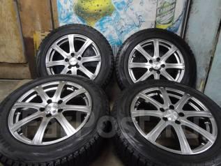 Продам Отличные Стильные под Чёр. Хром колёса Canox+Зима Жир 215/60R17. 7.0x17 5x114.30 ET38