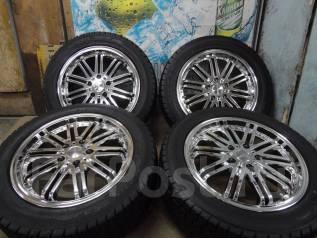 Продам Редкий Супер Крутой Чёрный Хром Wrest+Зима215/55R17Toyota, Honda. 7.0x17 5x114.30 ET48