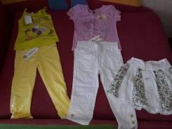 Новая одежда на девочку 4-5 лет. Рост: 110-116 см
