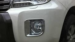 Ободок противотуманной фары. Toyota Land Cruiser