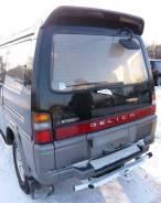 Спойлер на заднее стекло. Mitsubishi Delica