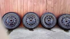 Комплект колес с летней резиной Maxxis 185/70 R14. 5.5x14 5x100.00 ET-40 ЦО 54,0мм.