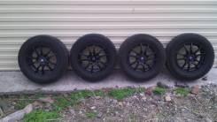 Продам зимние шины на литье 5 х 114,3 R16. 5x114.30 ET46 ЦО 67,1мм.