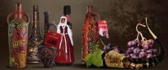 Подарочная Керамическая бутылка для напитков