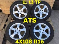 ATS. 6.0x16, 4x108.00, ET27, ЦО 65,1мм.