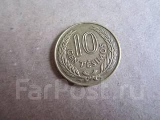 Уругвай 10 сентесимо 1960 года.