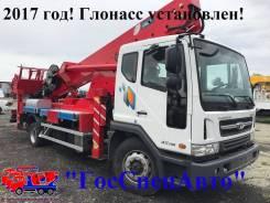 Horyong. Автовышка SKY 45SK на шасси Daewoo Novus 7тонн - 2017год!, 5 890 куб. см., 45 м.