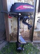 Tohatsu. 2,50л.с., 2х тактный, бензин, нога S (381 мм), Год: 2012 год