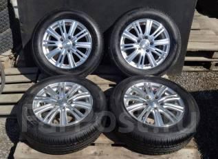 """Стильные литые диски """"Leonis WEDS"""" + Летние шины Zetro C4 195/65R15. 6.0x15 5x114.30 ET43 ЦО 73,1мм."""