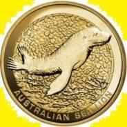 Австралия 1 доллар 2008 Sea Lion Морской Лев. Котик. Карточка
