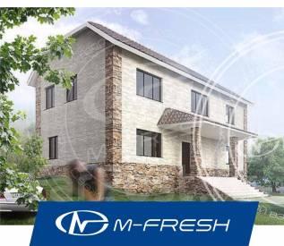 M-fresh Spring day (Посмотрите сейчас проект двухэтажного дома! ). 100-200 кв. м., 2 этажа, 6 комнат, бетон
