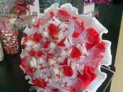 Подарки на выпускной день медика чай кофе букет из конфет