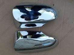 Накладка на зеркало. Toyota Vitz, NCP131, NHP130, NSP130, NSP135, KSP130