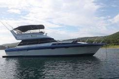 Аренда комфортабельного катера 45 футов. 10 человек, 45км/ч