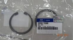 Кольцо стопорное сайлентблока HD270 / HD500 / 555567C000 / D=73 mm H=3 mm / под 67 сайлентблок