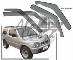 Ветровик на дверь. Suzuki Jimny, JB43, JB23W Двигатели: M13A, K6A
