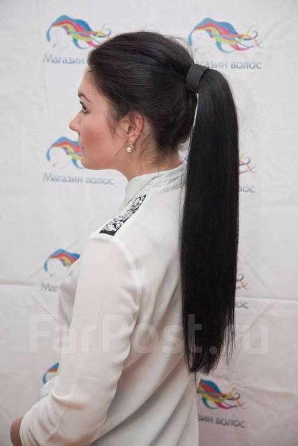 Волосы на заколках ! Огромный выбор. Корея. Европа. Акция длится до 30 сентября