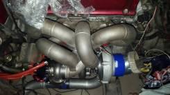 Коллектор выпускной. Mitsubishi Lancer Evolution Mitsubishi Eclipse Двигатель 4G63