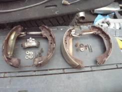 Механизм стояночного тормоза. Nissan Terrano, TR50 Двигатель ZD30DDTI
