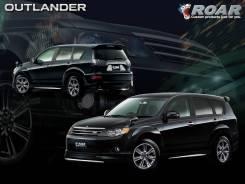 Обвес кузова аэродинамический. Mitsubishi Outlander, CW4W, CW5W, CW6W