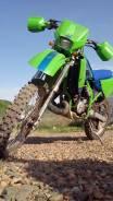 Kawasaki KDX 125SR. 124 куб. см., исправен, птс, с пробегом