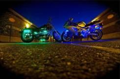 Подсветка мотоцикла RGB диоды 18 цветов в одном