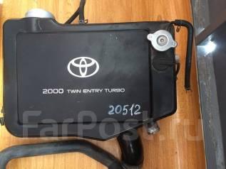 Интеркулер. Toyota Celica, ST205 Двигатель 3SGTE