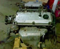 Двигатель в сборе. Mitsubishi Galant Двигатель 4G63