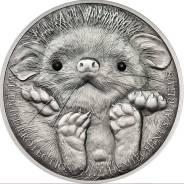 """Большая красивая монета Кристаллы """"ежик"""" + капсула!"""