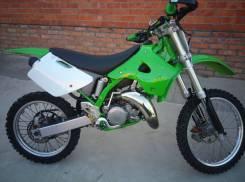 Kawasaki KX 125. исправен, птс, с пробегом